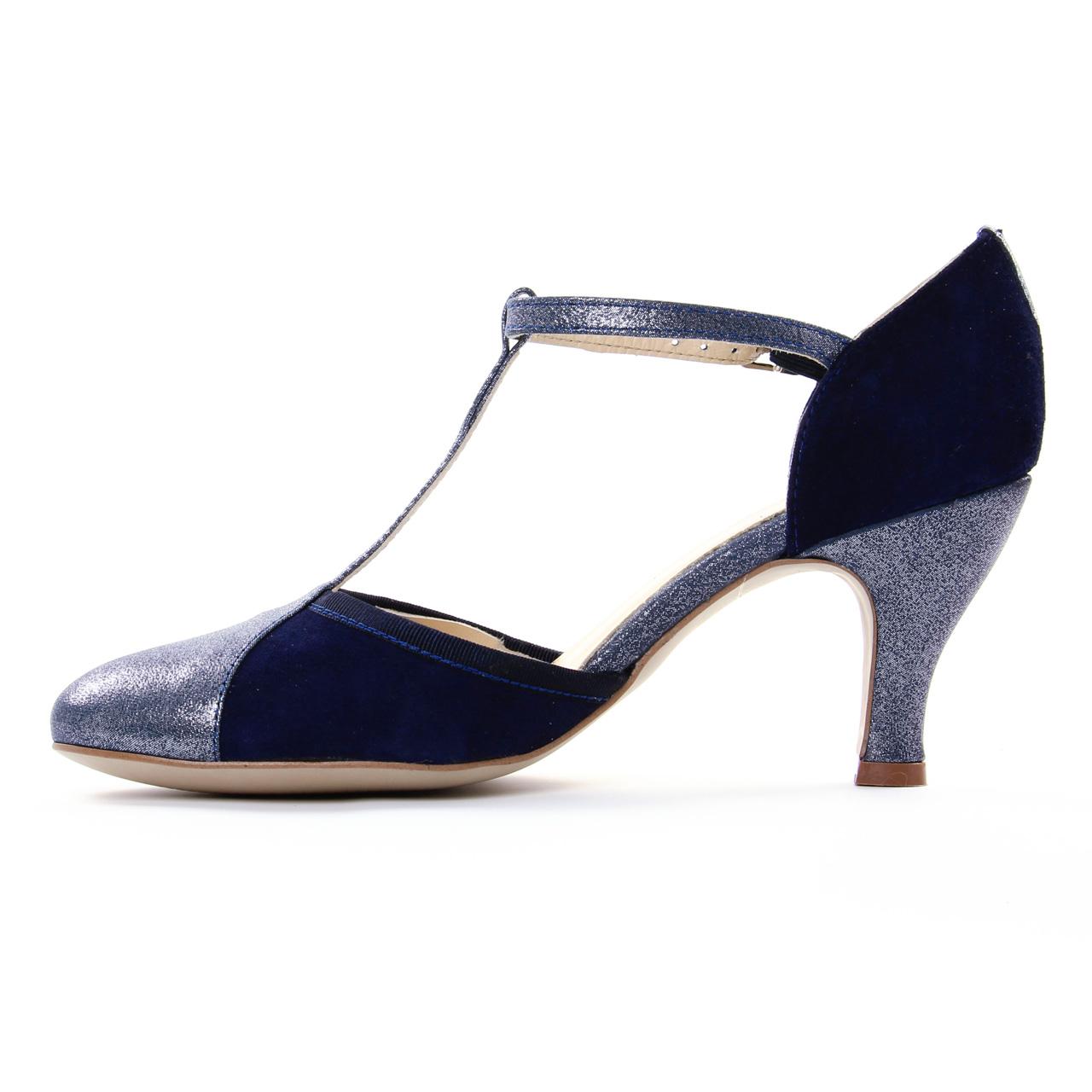 24 HORAS Salomé Femme - Bleu - Bleu (Marino 5), 36 EU EU