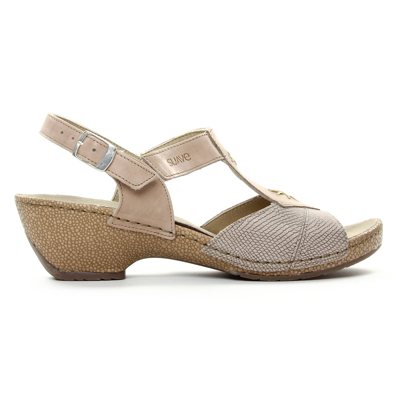 Suave 8519 Sandy   sandales beige doré printemps été chez TROIS PAR 3 5b5563fe2865