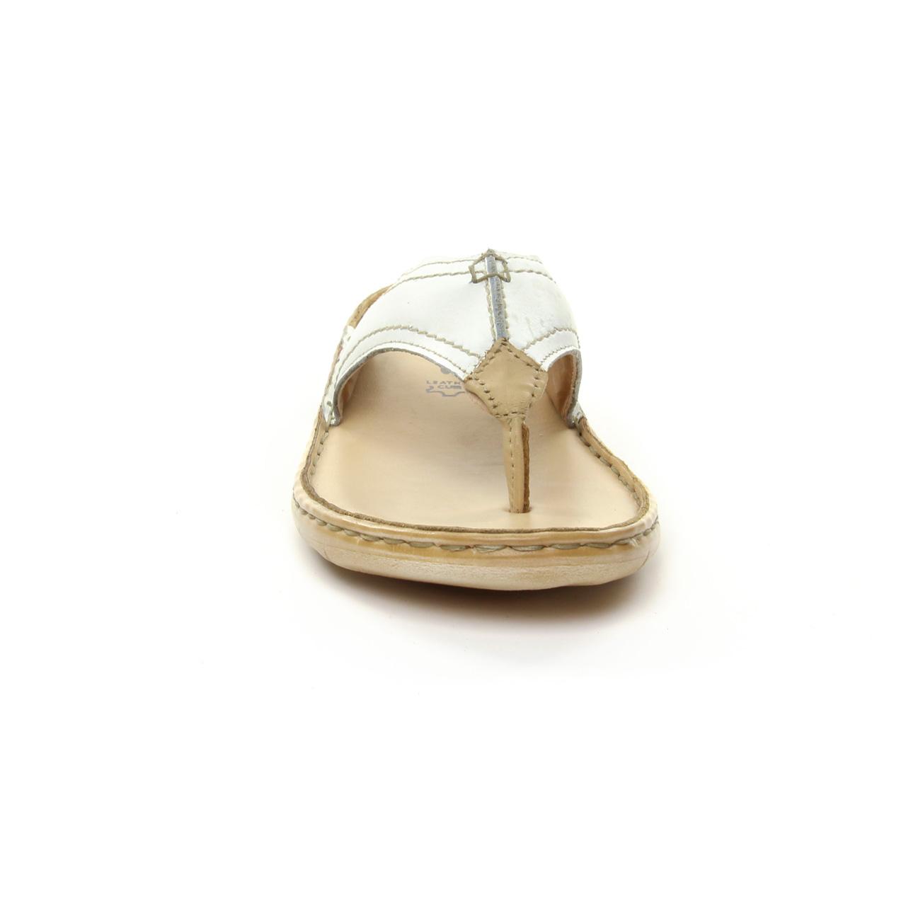 Tamaris 27210 White Sand | sandales blanc beige printemps