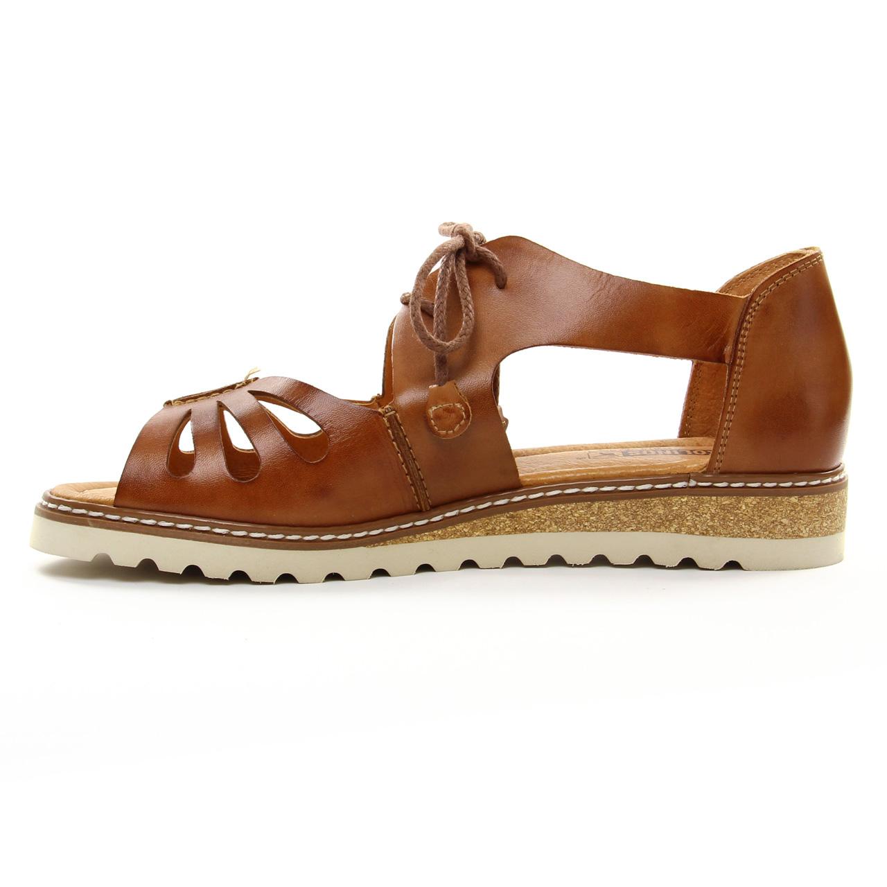 c10739a07ede90 Pikolinos W1L-0917 Brandy | sandales marron printemps été chez TROIS ...