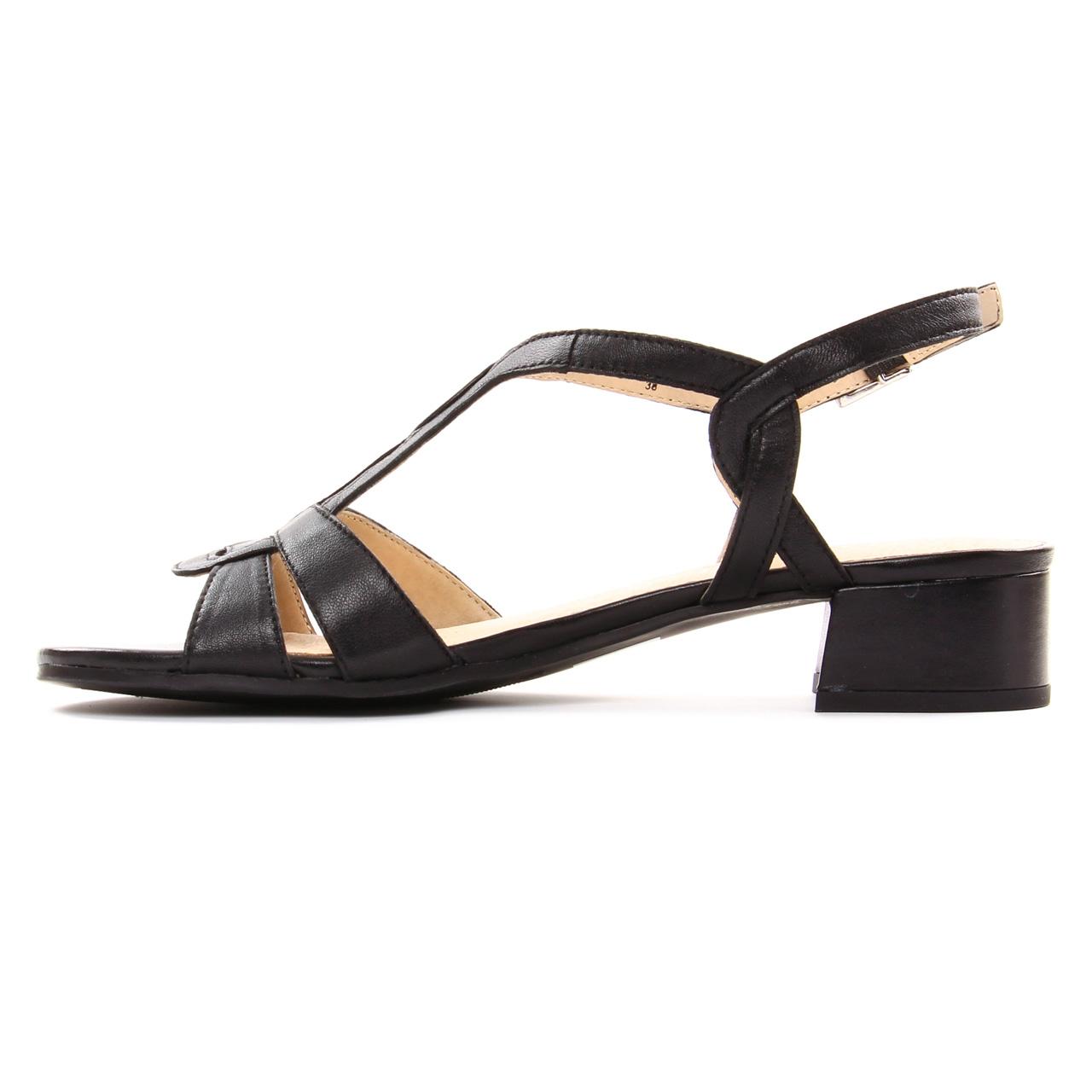 ec5a43c3201605 Caprice 28201 Black | sandales noir printemps été chez TROIS PAR 3