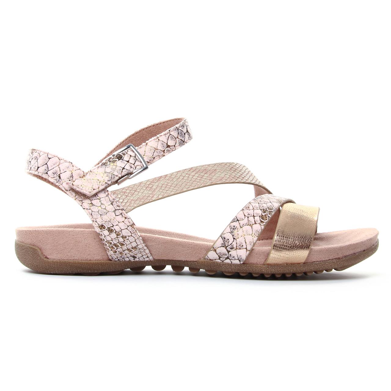 Tamaris 28604 Rose | sandales rose doré printemps été chez