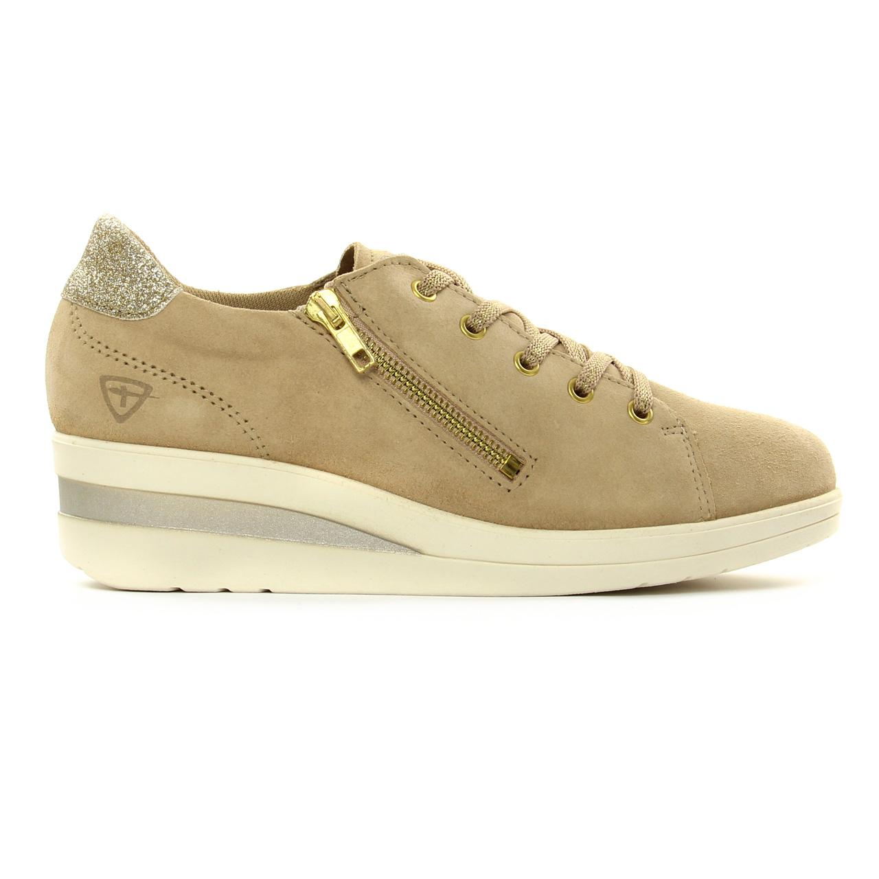 Tamaris 23755 Beige Gold   tennis beige doré printemps été