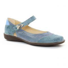 Chaussures femme été 2018 - babies Dorking bleu