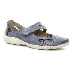 Chaussures femme été 2018 - babies Remonte bleu