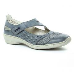 trotteurs-babies bleu: même style de chaussures en ligne pour femmes que les Rieker