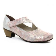trotteurs-babies gris argent: même style de chaussures en ligne pour femmes que les Rieker