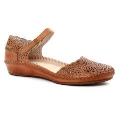 Chaussures femme été 2018 - babies Pikolinos marron