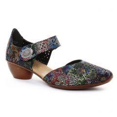 Rieker 43711 Schwarz : chaussures dans la même tendance femme (babies multicolore) et disponibles à la vente en ligne