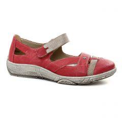 babies rouge beige: même style de chaussures en ligne pour femmes que les Remonte