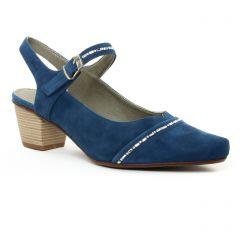 babies-talon bleu: même style de chaussures en ligne pour femmes que les Fugitive