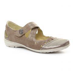 trotteurs-babies beige doré: même style de chaussures en ligne pour femmes que les Geo Reino