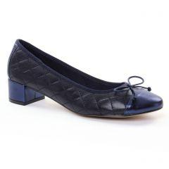 ballerines-talon bleu marine: même style de chaussures en ligne pour femmes que les Scarlatine
