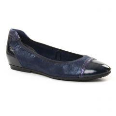 ballerines bleu marine: même style de chaussures en ligne pour femmes que les Tamaris