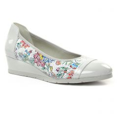 ballerines-talons-compenses multicolore: même style de chaussures en ligne pour femmes que les Jb Martin