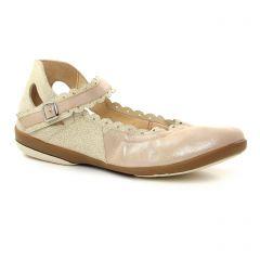 ballerines-confort beige rose: même style de chaussures en ligne pour femmes que les Scarlatine