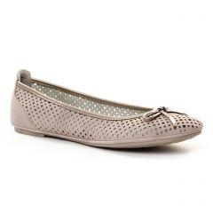 ballerines mauve: même style de chaussures en ligne pour femmes que les Marco Tozzi