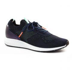 baskets-mode bleu vert: même style de chaussures en ligne pour femmes que les Tamaris