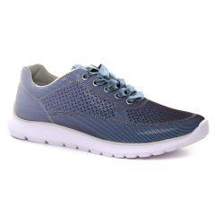 Chaussures femme été 2018 - baskets mode marco tozzi bleu violet