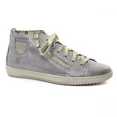 baskets-mode grisargent: même style de chaussures en ligne pour femmes que les Rieker