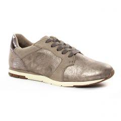baskets-mode marron taupe: même style de chaussures en ligne pour femmes que les Tamaris