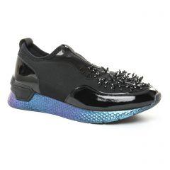 baskets-mode noir bleu: même style de chaussures en ligne pour femmes que les Marco Tozzi