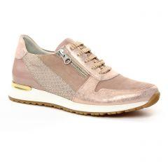 baskets-mode rose beige doré: même style de chaussures en ligne pour femmes que les Dorking