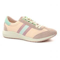 baskets-mode rose vert: même style de chaussures en ligne pour femmes que les Rieker