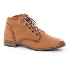 boots-ete marron: même style de chaussures en ligne pour femmes que les Marco Tozzi