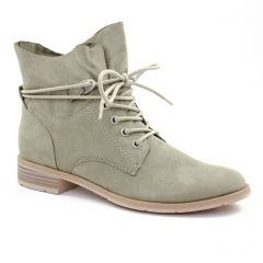bottines-a-lacets vert: même style de chaussures en ligne pour femmes que les Marco Tozzi