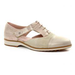richelieus beige doré: même style de chaussures en ligne pour femmes que les Dorking