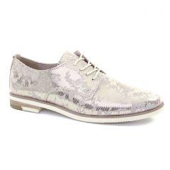 derbys beige doré: même style de chaussures en ligne pour femmes que les Marco Tozzi