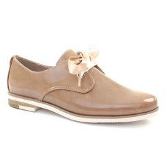 Chaussures femme été 2018 - derbys marco tozzi beige