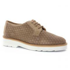 derbys beige: même style de chaussures en ligne pour femmes que les Maria Jaén