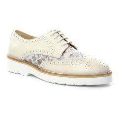 derbys beige multi: même style de chaussures en ligne pour femmes que les Maria Jaén