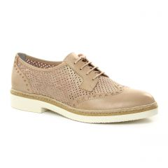 derbys beige rose: même style de chaussures en ligne pour femmes que les Tamaris