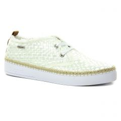derbys blanc beige: même style de chaussures en ligne pour femmes que les Bugatti