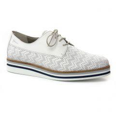 Dorking 7512 Blanc Blanc : chaussures dans la même tendance femme (derbys blanc) et disponibles à la vente en ligne