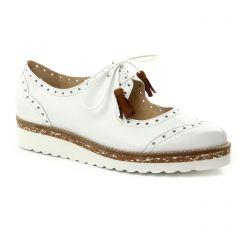derbys blanc: même style de chaussures en ligne pour femmes que les Pintodiblu