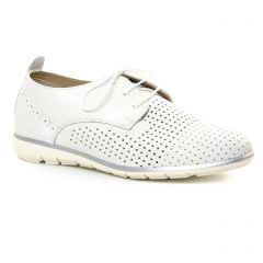 Tamaris 23622 White Silver : chaussures dans la même tendance femme (derbys blanc) et disponibles à la vente en ligne