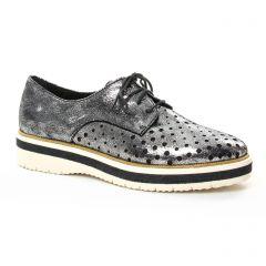derbys gris argent: même style de chaussures en ligne pour femmes que les Tamaris