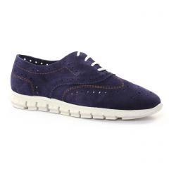 derbys bleu marine: même style de chaussures en ligne pour femmes que les Maria Jaén
