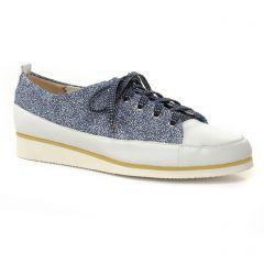 derbys-talons-compenses bleu marine: même style de chaussures en ligne pour femmes que les Fugitive