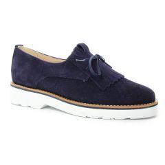 derbys-talons-compenses bleu marine: même style de chaussures en ligne pour femmes que les Pintodiblu