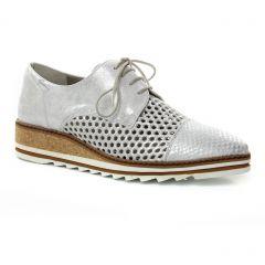 derbys gris argent: même style de chaussures en ligne pour femmes que les Mamzelle
