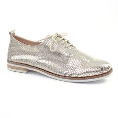 derbys marron doré: même style de chaussures en ligne pour femmes que les Marco Tozzi