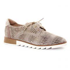 derbys marron: même style de chaussures en ligne pour femmes que les Mamzelle