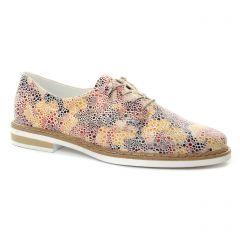 derbys multicolore: même style de chaussures en ligne pour femmes que les Rieker