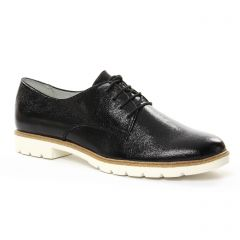 Chaussures femme été 2018 - derbys tamaris noir
