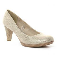 escarpins beige doré: même style de chaussures en ligne pour femmes que les Marco Tozzi